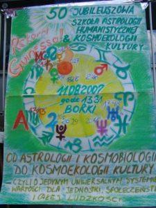 Plakat Szkoły - dzieło Waldemara Chmielewskiego