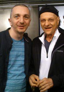 Artur Święch i Arnold Mindell, kwiecień 2014