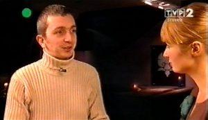 Artur Święch w programie Joanny Brodzik (TVP2), kwiecień 2007